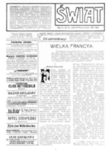 Świat : [pismo tygodniowe ilustrowane poświęcone życiu społecznemu, literaturze i sztuce. R. 5 (1910), nr 41 (8 października)