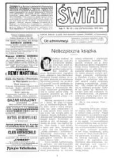 Świat : [pismo tygodniowe ilustrowane poświęcone życiu społecznemu, literaturze i sztuce. R. 5 (1910), nr 43 (22 października)