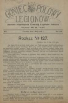 Goniec Polowy Legionów. 1915, nr 1 ( 3 Maja)