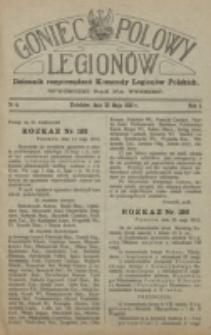 Goniec Polowy Legionów. 1915, nr 4 (29 maja)