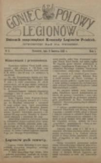 Goniec Polowy Legionów. 1915, nr 5 (8 czerwca)
