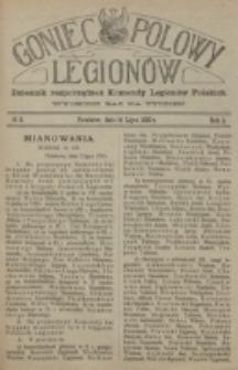Goniec Polowy Legionów. 1915, nr 8 (14 lipca)