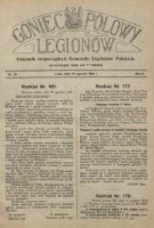 Goniec Polowy Legionów. 1916, nr 12 (15 stycznia)