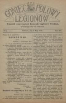 Goniec Polowy Legionów. 1915, nr 2 (11 maja)