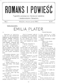 Romans i Powieść. R. 1, nr 26 (26 czerwca 1909)