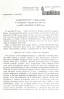 O rozumienie bytu moralnego / Mieczysław A. Krąpiec.