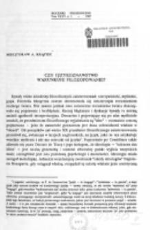 Czy językoznawstwo warunkuje filozofowanie / Mieczysław A. Krąpiec.