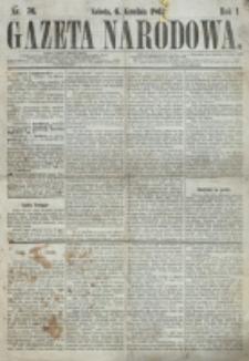 Gazeta Narodowa. R. 1, nr 76 (6 grudnia 1862)
