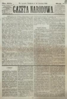 Gazeta Narodowa. R. 5, nr 133 (10 czerwca 1866)