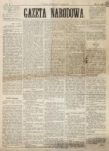 Gazeta Narodowa. R. 12, nr 1 (1 stycznia 1873)