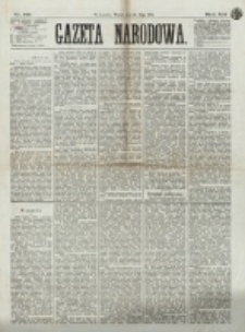 Gazeta Narodowa. R. 12, nr 121 (20 maja 1873)