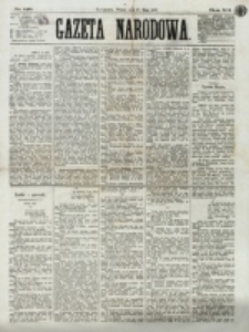 Gazeta Narodowa. R. 12, nr 126 (27 maja 1873)