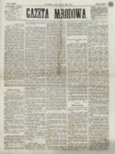 Gazeta Narodowa. R. 12, nr 125 (25 maja 1873)