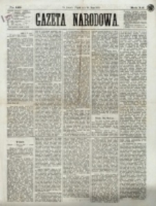 Gazeta Narodowa. R. 12, nr 129 (30 maja 1873)