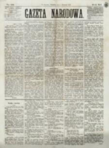 Gazeta Narodowa. R. 12, nr 131 (1 czerwca 1873)