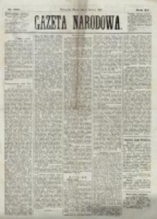 Gazeta Narodowa. R. 12, nr 132 (3 czerwca 1873)