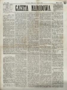 Gazeta Narodowa. R. 12, nr 136 (7 czerwca 1873)
