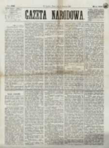 Gazeta Narodowa. R. 12, nr 139 (11 czerwca 1873)
