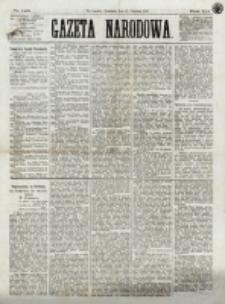 Gazeta Narodowa. R. 12, nr 140 (12 Czerwca 1873)
