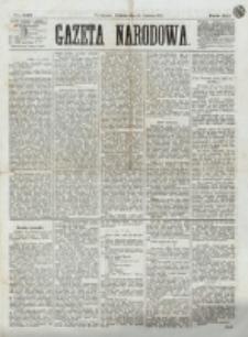 Gazeta Narodowa. R. 12, nr 142 (15 czerwca 1873)