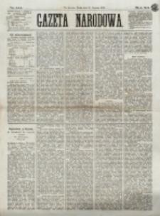 Gazeta Narodowa. R. 12, nr 144 (18 Czerwca 1873)