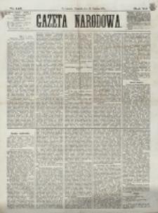 Gazeta Narodowa. R. 12, nr 145 (19 czerwca 1873)