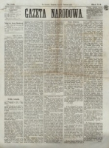 Gazeta Narodowa. R. 12, nr 148 (22 czerwca 1873)
