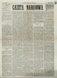 Gazeta Narodowa. R. 12, nr 156 (2 sierpnia 1873)