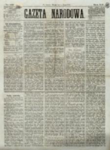 Gazeta Narodowa. R. 12, nr 155 (1 lipca 1873)