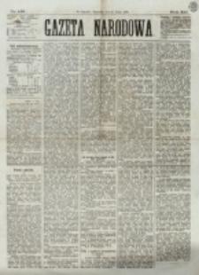 Gazeta Narodowa. R. 12, nr 157 (3 lipca 1873)