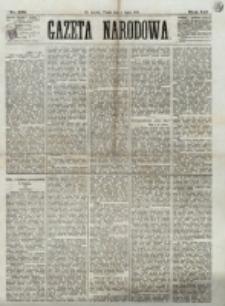 Gazeta Narodowa. R. 12, nr 158 (4 lipca 1873)