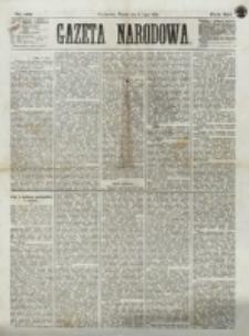Gazeta Narodowa. R. 12, nr 161 (8 lipca 1873)