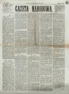 Gazeta Narodowa. R. 12, nr 162 (9 lipca 1873)