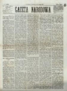 Gazeta Narodowa. R. 12, nr 163 (10 lipca 1873)