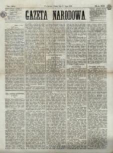 Gazeta Narodowa. R. 12, nr 164 (11 lipca 1873)