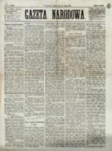 Gazeta Narodowa. R. 12, nr 165 (12 lipca 1873)