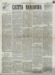 Gazeta Narodowa. R. 12, nr 166 (13 lipca 1873)
