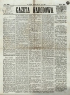 Gazeta Narodowa. R. 12, nr 169 (17 lipca 1873)