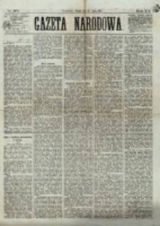 Gazeta Narodowa. R. 12, nr 170 (18 lipca 1873)
