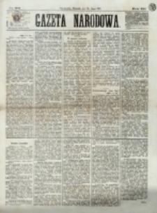 Gazeta Narodowa. R. 12, nr 172 (20 lipca 1873)