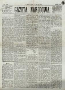 Gazeta Narodowa. R. 12, nr 173 (22 lipca 1873)