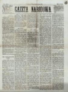 Gazeta Narodowa. R. 12, nr 174 (23 lipca 1873)