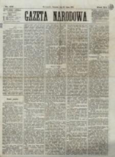 Gazeta Narodowa. R. 12, nr 175 (24 lipca 1873)