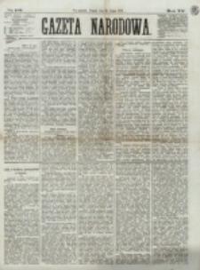 Gazeta Narodowa. R. 12, nr 176 (25 lipca 1873)