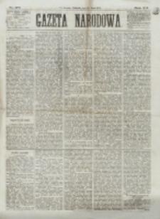 Gazeta Narodowa. R. 12, nr 178 (27 lipca 1873)