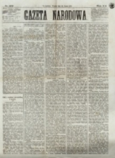 Gazeta Narodowa. R. 12, nr 179 (29 lipca 1873)