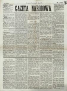 Gazeta Narodowa. R. 12, nr 180 (30 lipca 1873)