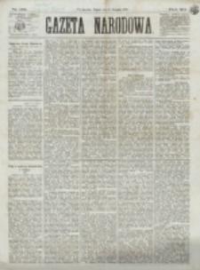 Gazeta Narodowa. R. 12, nr 182 (1 sierpnia 1873)