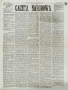 Gazeta Narodowa. R. 12, nr 183 (2 sierpnia 1873)