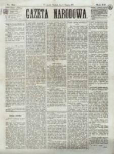 Gazeta Narodowa. R. 12, nr 184 (3 sierpnia 1873)